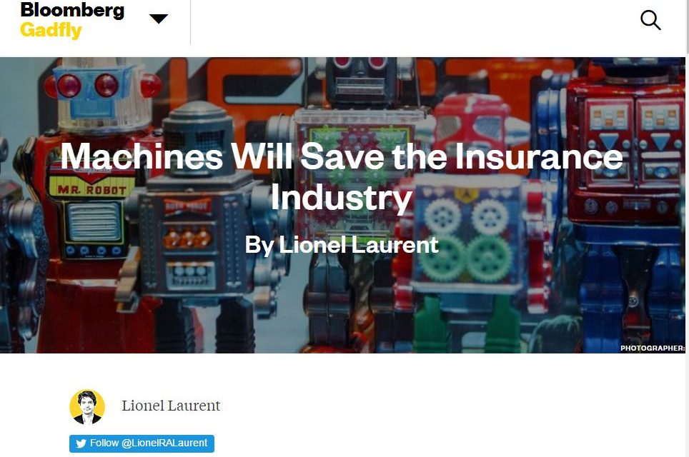 Machines Will Save the Insurance Industry